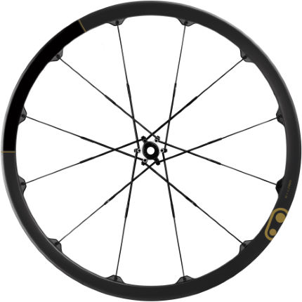 Picture of Crank Brothers Cobalt 11 Boost Carbon Wheelset - Black/Gold
