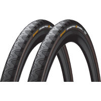 Continental Grand Prix 4 Season Folding Road Tyres 28c - Pair