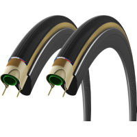 Vittoria Corsa G+ Folding Graphene Tyres Brown/Black 23c -