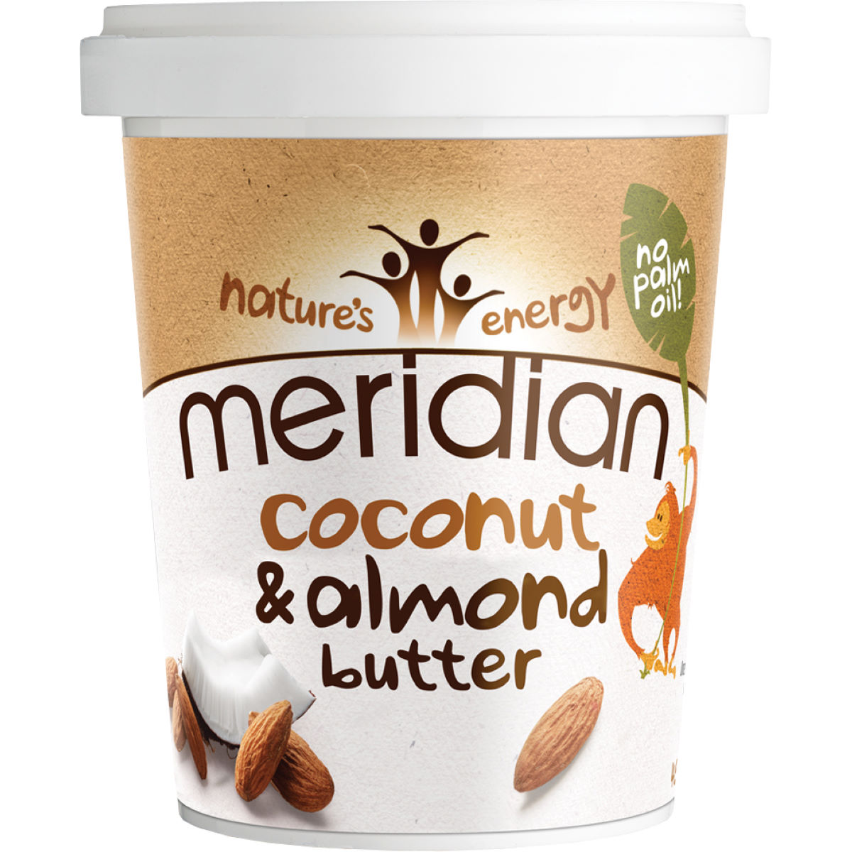 Meridian Nut Butter Plus Almond - Barritas