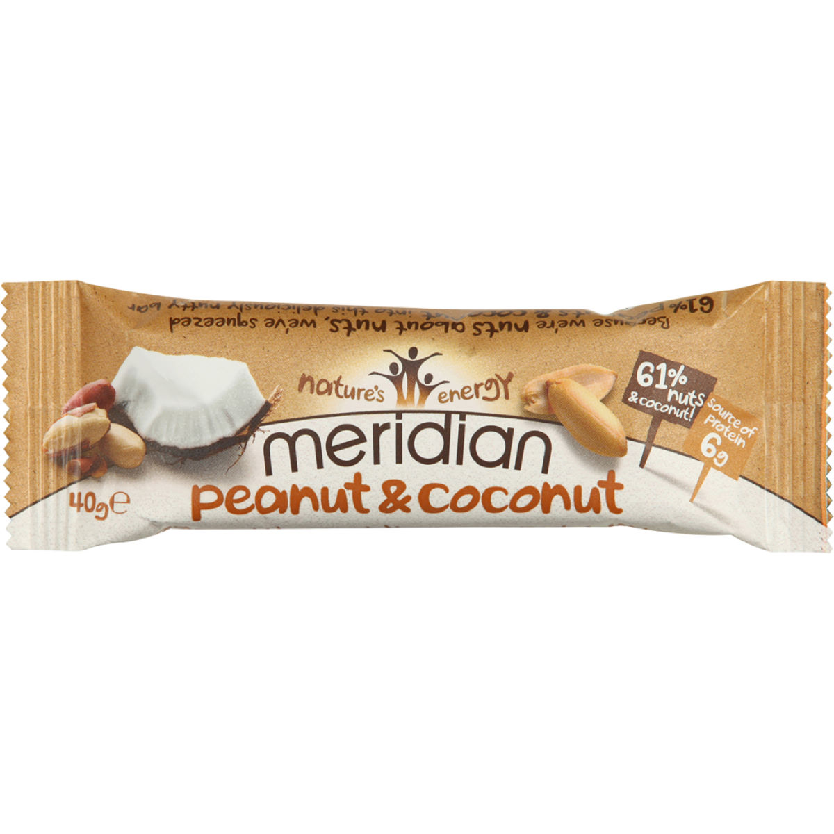 Meridian Nut Bars - Barritas