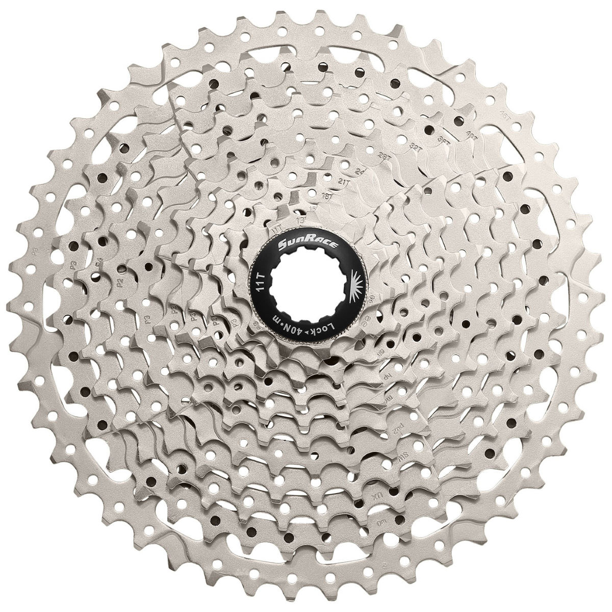 SunRace MS8 Wide-Ratio Cassette (11 Speed) - Cassettes