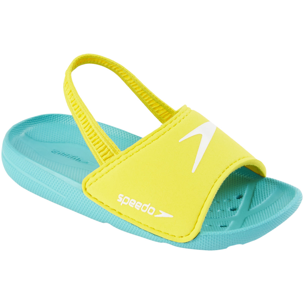 Speedo Atami Sea Squad Slide Infant - Escarpines de natación