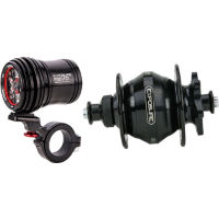 picture of Exposure Revo Pack Dynamo Light with 32 Spoke Black Disc Br