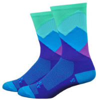 "DeFeet Aireator 6"" Ridge Supply (Alpine Mist) Socks"