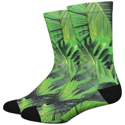 DeFeet Levitator Lite 6in Sublimation Jungle Socks
