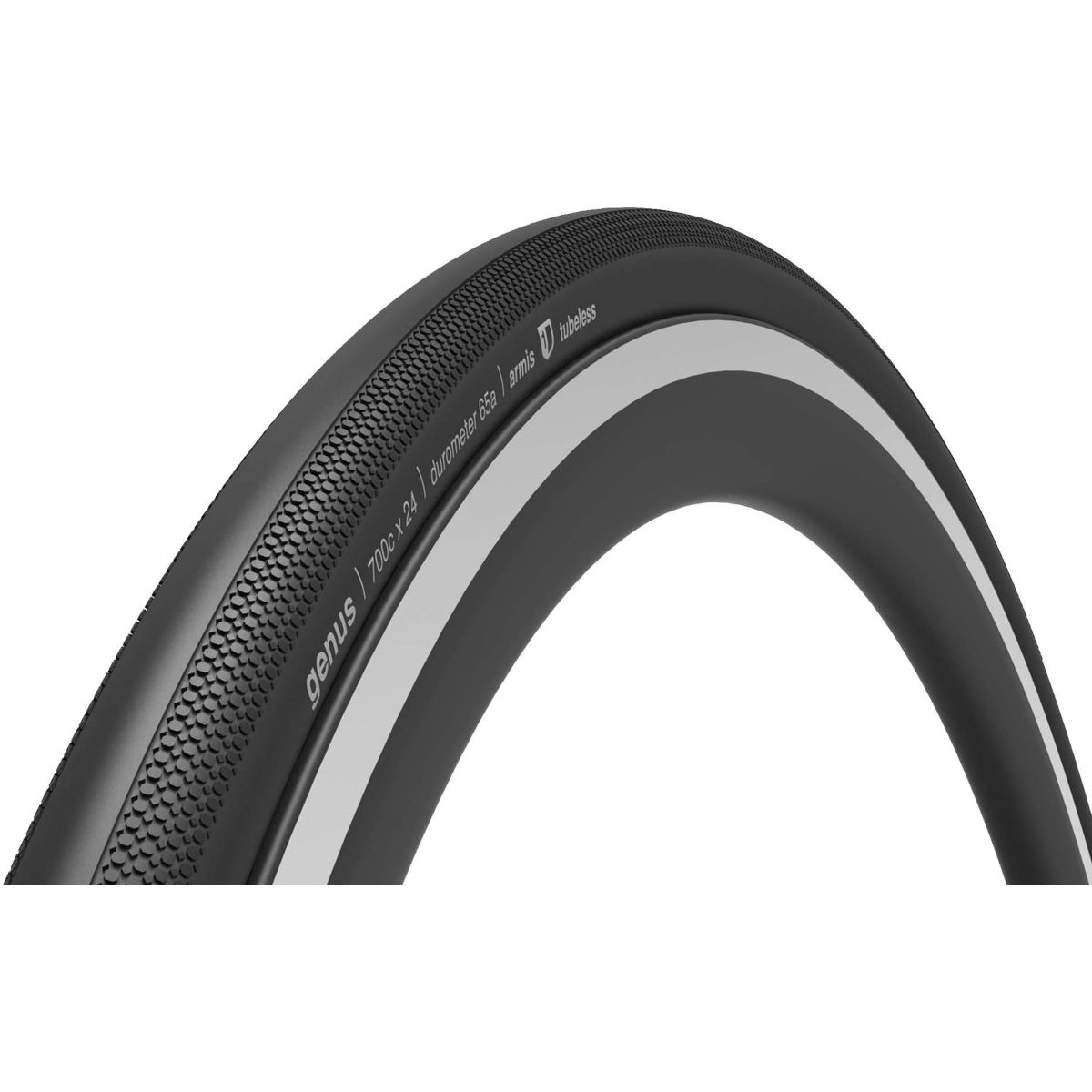 Ere Research Genus Tubeless 120TPI Folding Road Tyre - Cubiertas