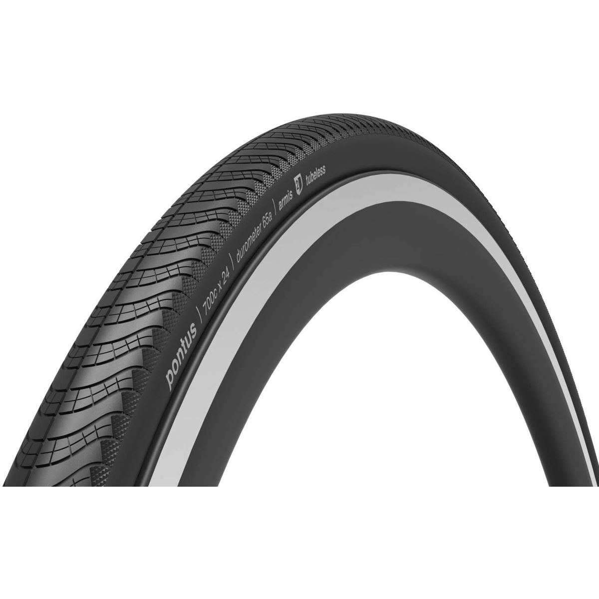 Ere Research Pontus Tubeless 120TPI Folding Road Tyre - Cubiertas