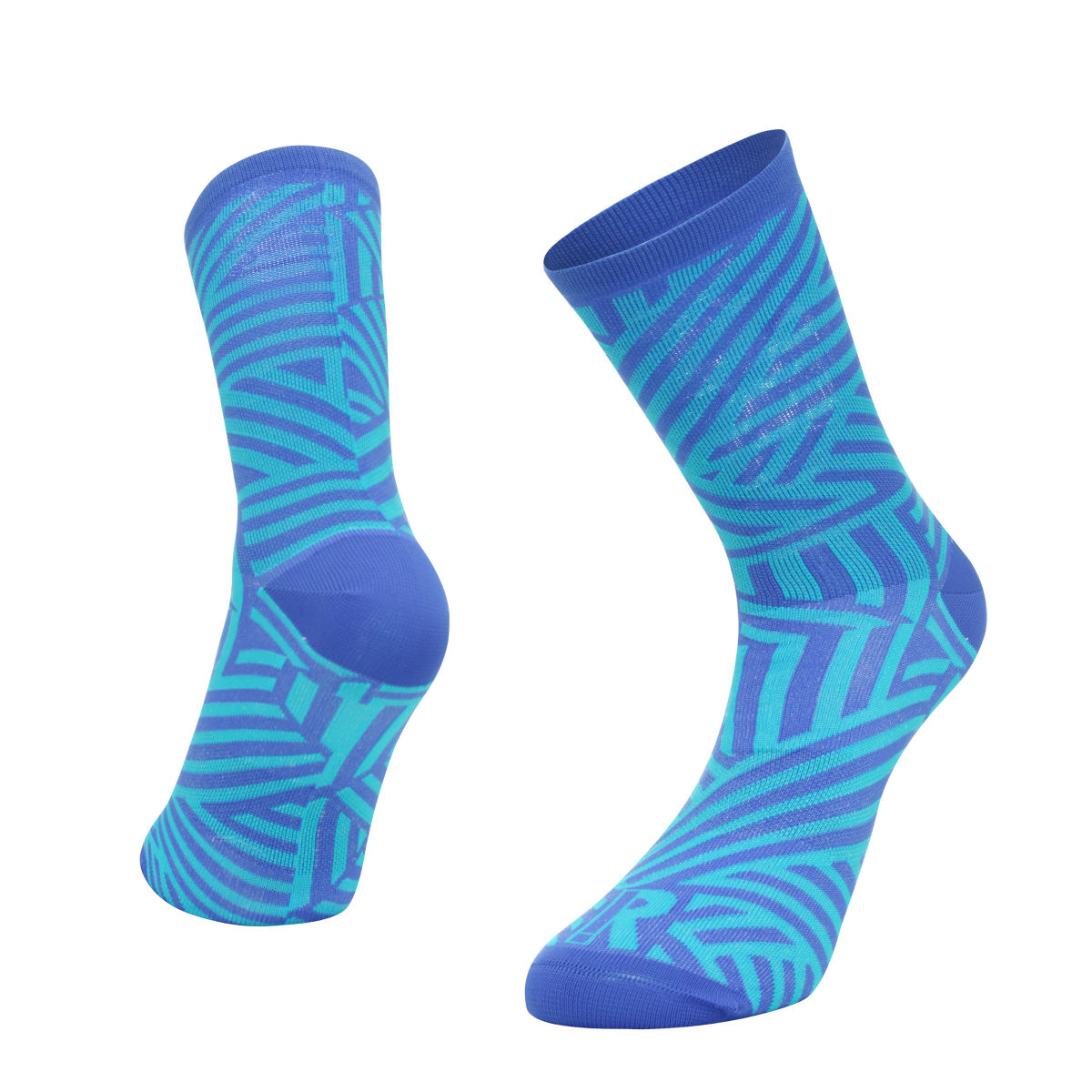 Ratio Dash 16 cm Sock (Blue/Blue) - Calcetines