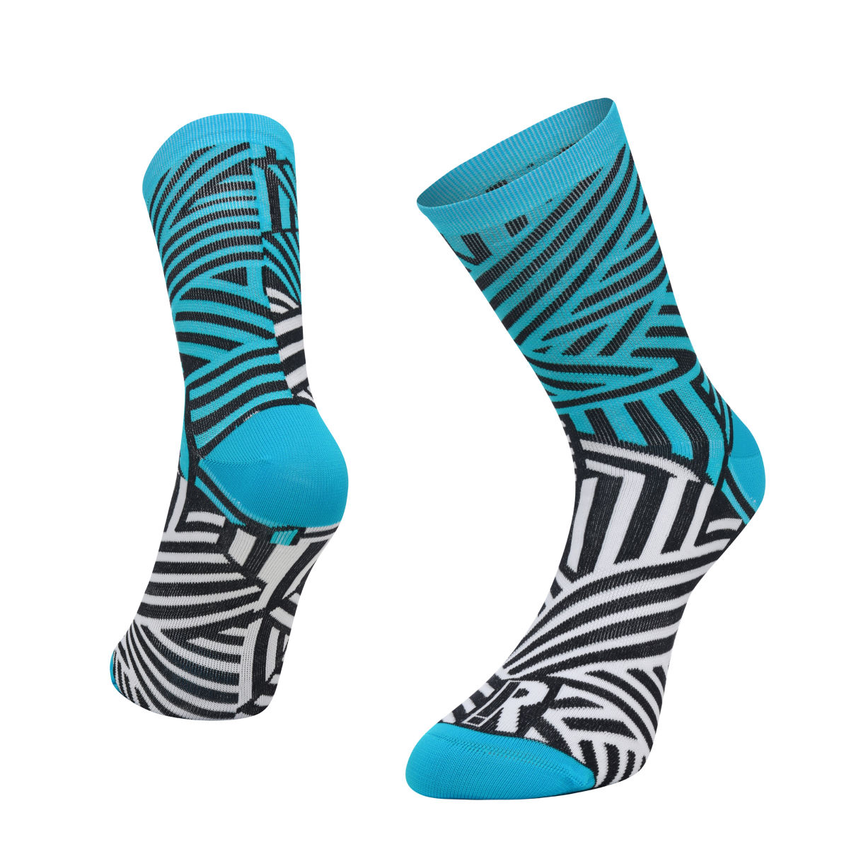Ratio Dash 16 cm Sock (Blue/White) - Calcetines