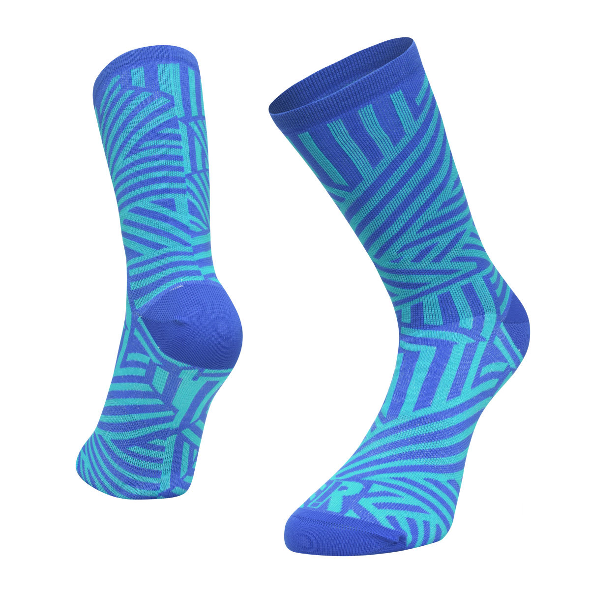 Ratio Dash 20 cm Sock (Blue/Blue) - Calcetines