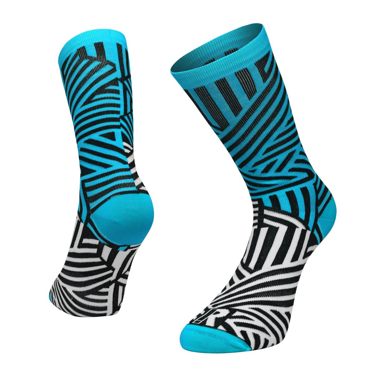 Ratio Dash 20 cm Sock (Blue/White) - Calcetines