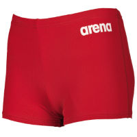 Arena Solid Short Jr Red/White