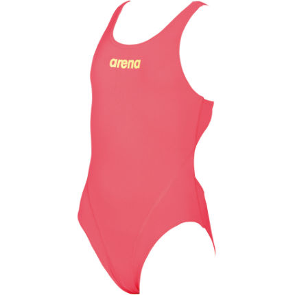 Arena Solid Swim Tech Jr Red/Green