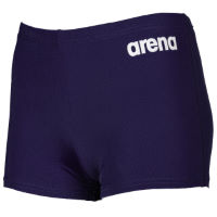 Arena Solid Short Jr Navy White