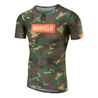 Morvelo Camo Short Sleeve Baselayer