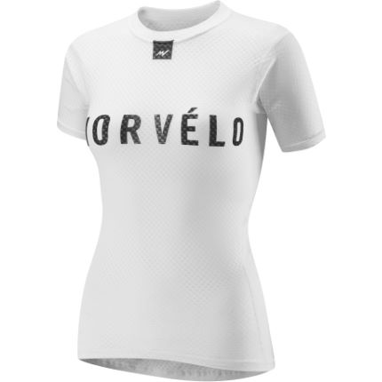 Morvelo Women's Definitive White Short Sleeve Baselayer