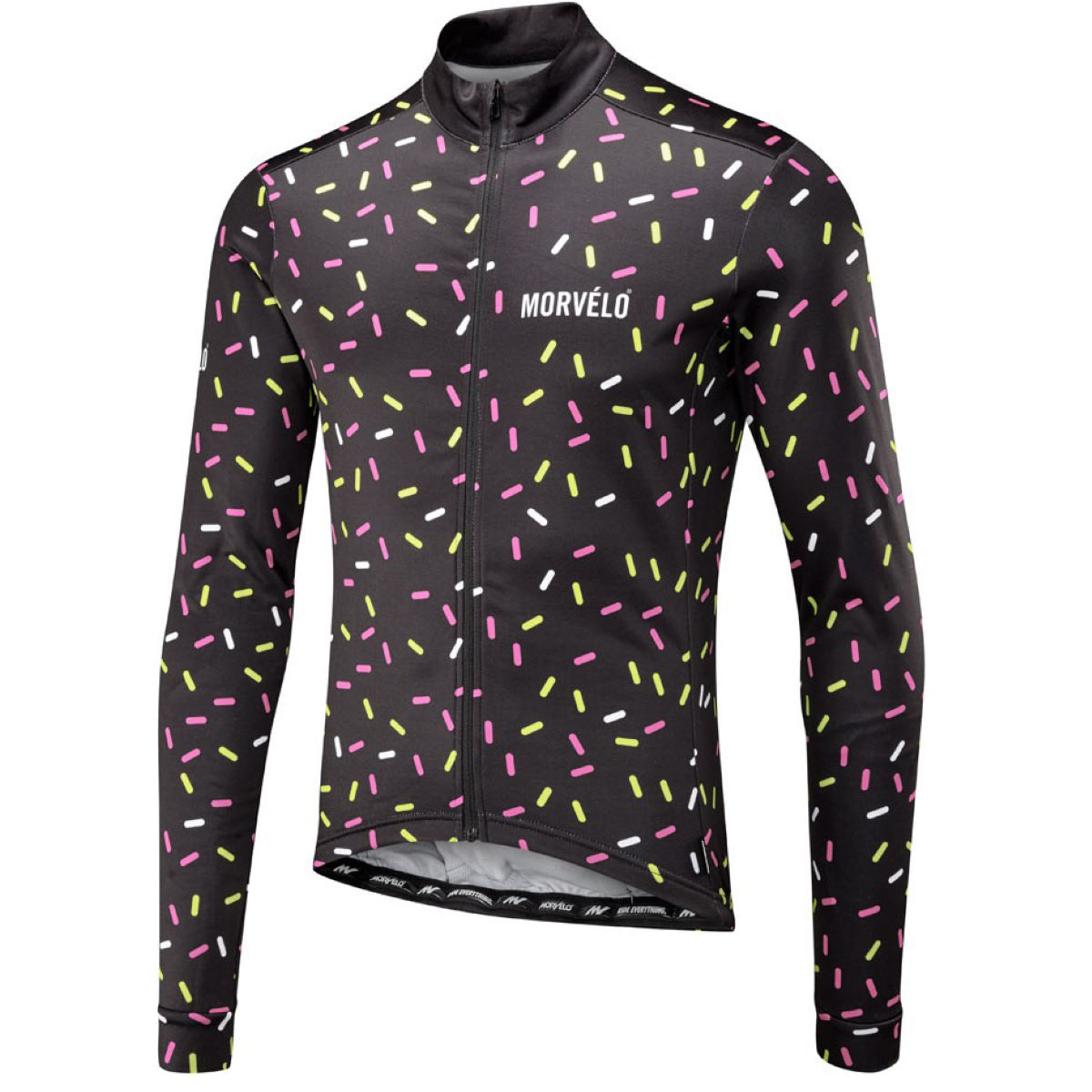 Morvelo Strands Thermoactive Long Sleeve Jersey - Maillots