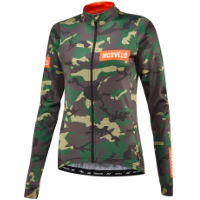 Morvelo Womens Camo Thermoactive Long Sleeve Jersey