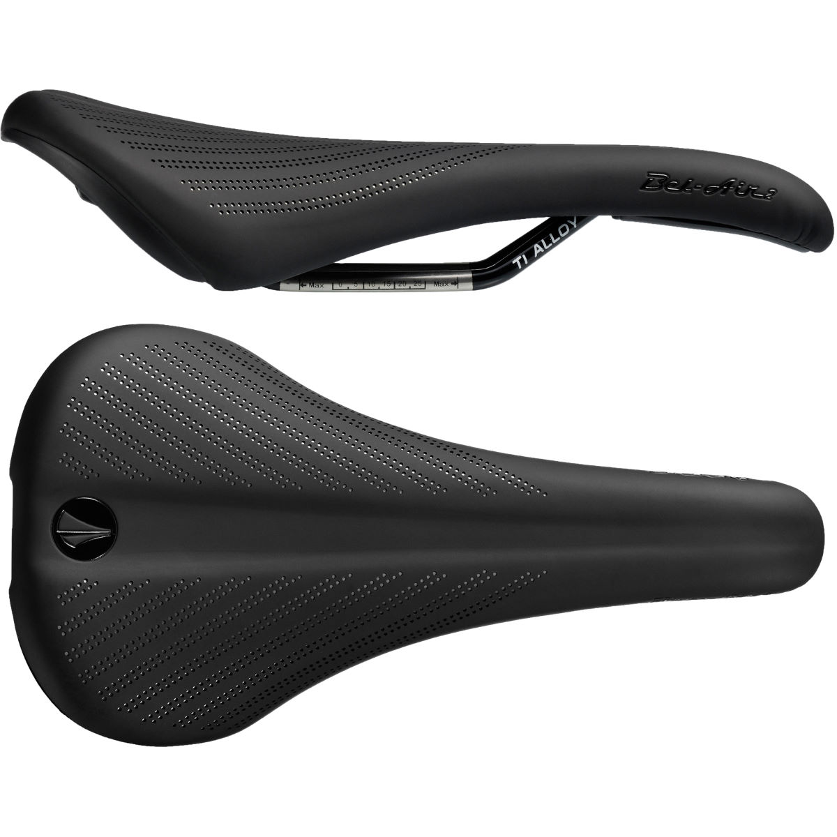 SDG Bel Air 2.0 Ti-Alloy Rail Saddle - Sillines