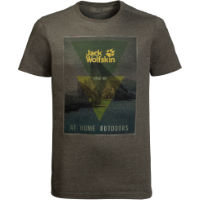 Jack Wolfskin Mens Mountain T-Shirt