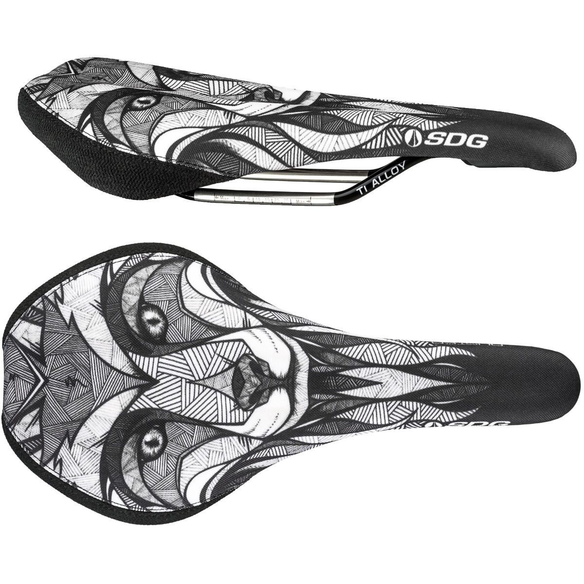 SDG Duster P Mtn Ti-Alloy Saddle - Sillines