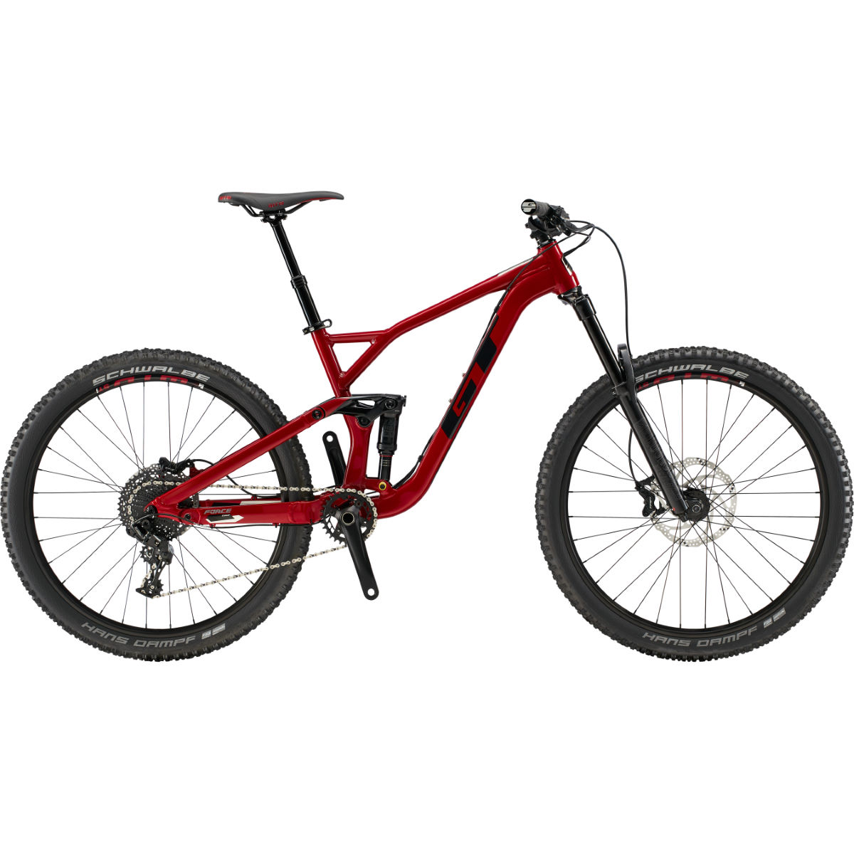 GT Force AL Comp (2019) Bike - Bicicletas de MTB de doble suspensión