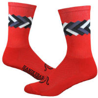 "DeFeet Aireator 6"" Handlebar Mustache (Big Twisted) Socks"