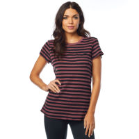 Fox Racing Womens Striped Out Crew