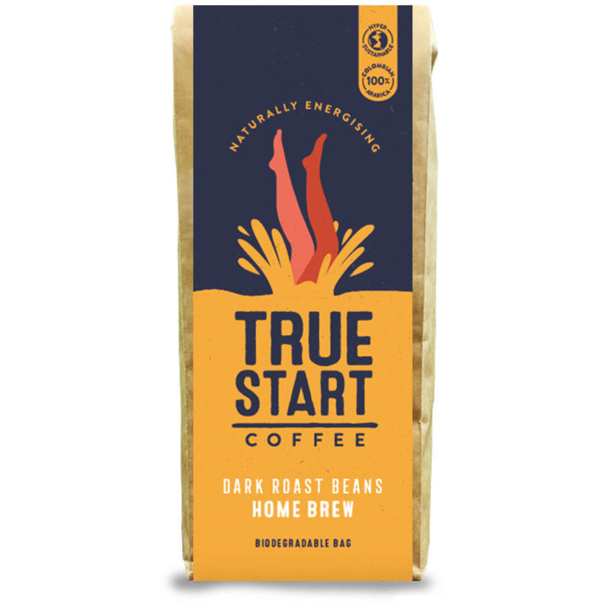 TrueStart TrueStart Home Brew Coffee - Premium Dark Roast Be - Café