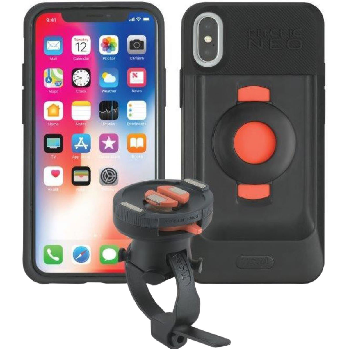 Tigra Sport FitClic Neo Bike kit for iPhone X - Fundas para el móvil