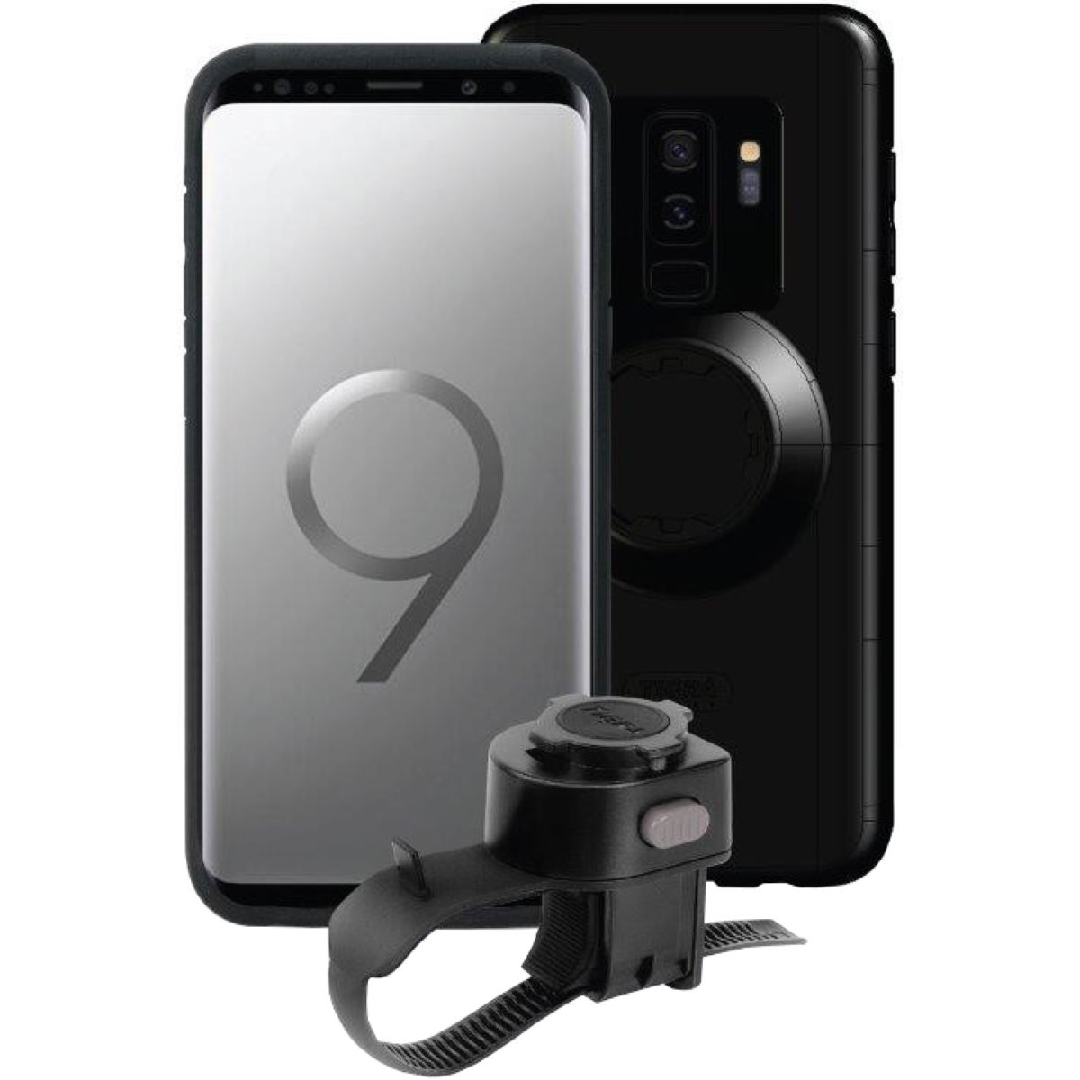 Tigra Sport MountCase Bike Kit for Samsung Galaxy  S9+/S8+ - Fundas para el móvil