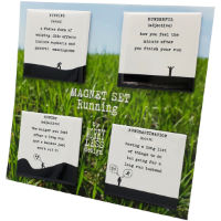 Worry Less Designs Running Magnet Set (Set of 4)