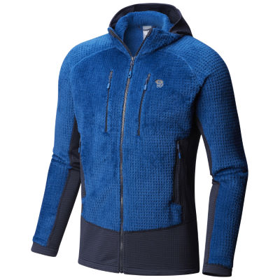mountain-hardwear-monkey-man-grid-hooded-jacket-fleece-oberteile