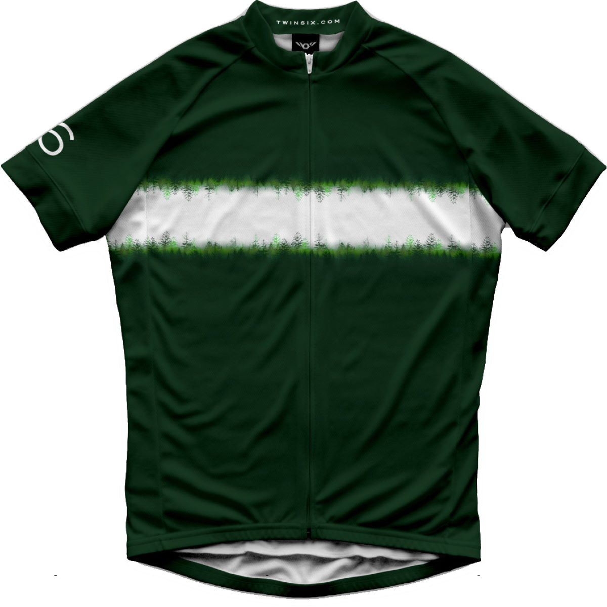 Twin Six The Distance SS Jersey Green XL - Maillots