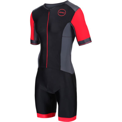 Men's Aspire Tri suit (Wiggle Exclusive) - Trajes de triatlón BLACK/RED M
