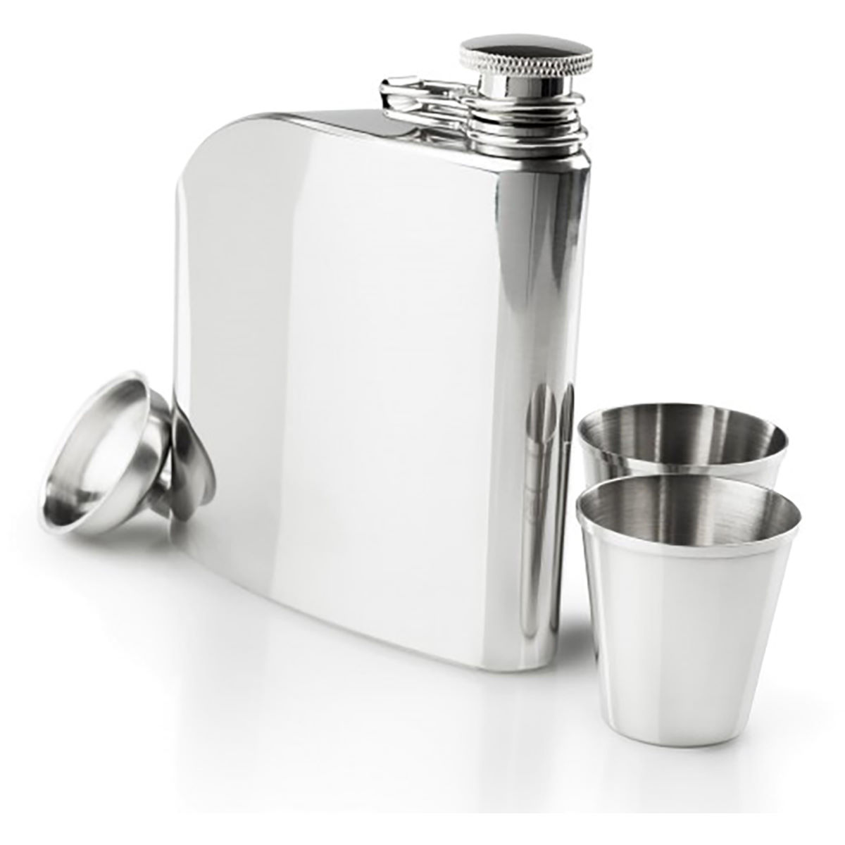 GSI Outdoors Glacier Stainless Trad Flask Set - Termos y cantimploras