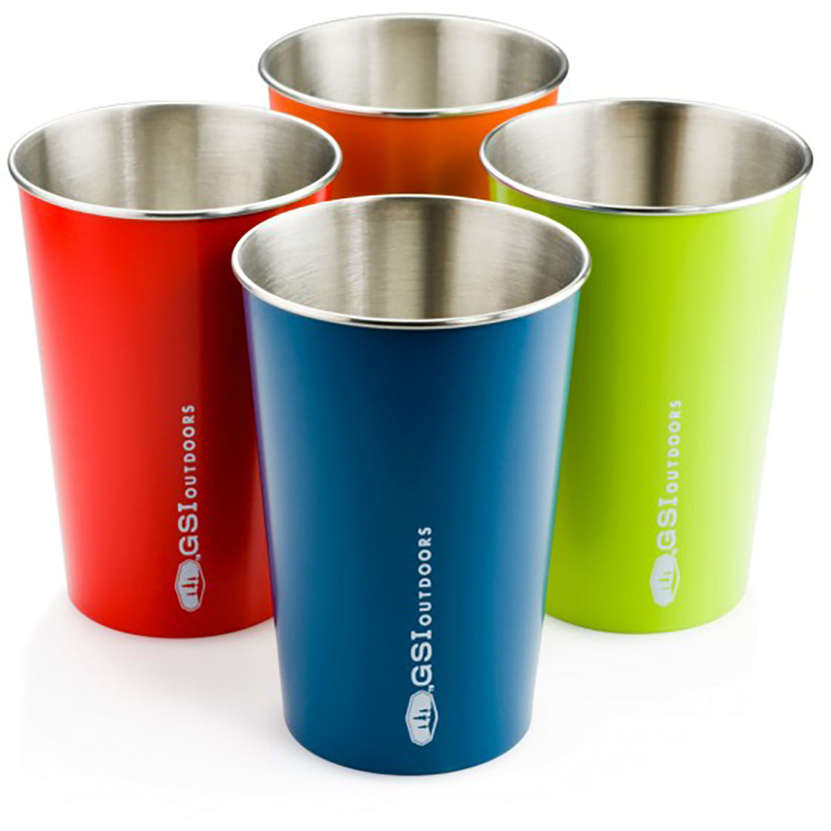 GSI Outdoors Glacier Stainless Pint Set - Vajilla