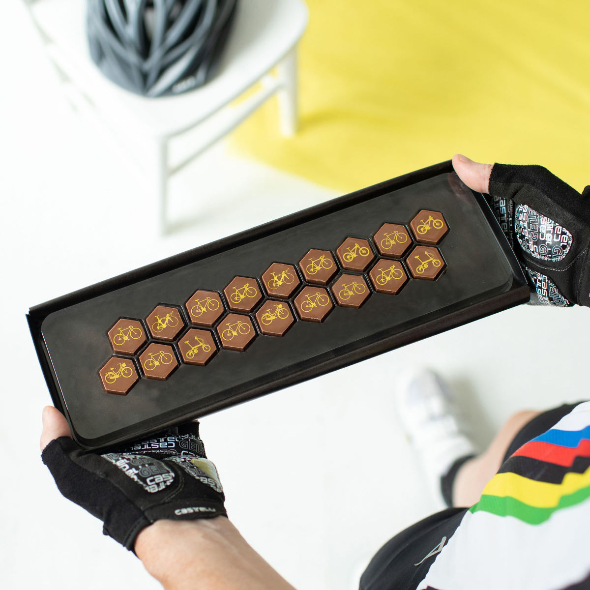 Quirky Gift Library Bike Chocolates - Regalos