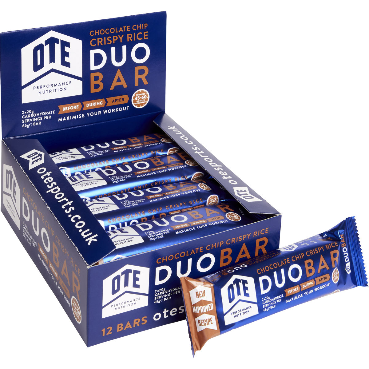 OTE Duo Energy Bar 12 X 65G - Barritas