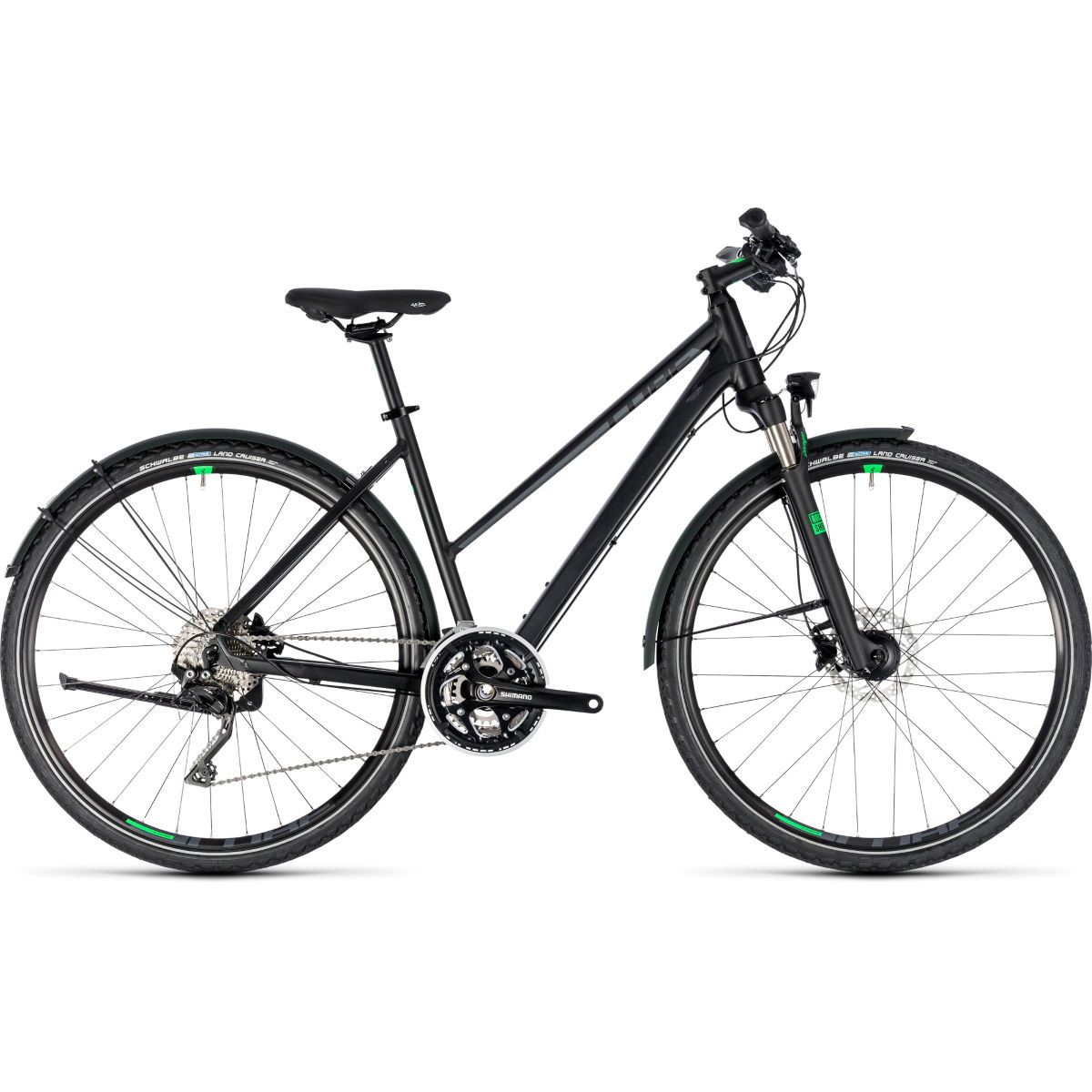 Cube Cross All Road Trapeze Urban Bike (2018) - Bicicletas híbridas