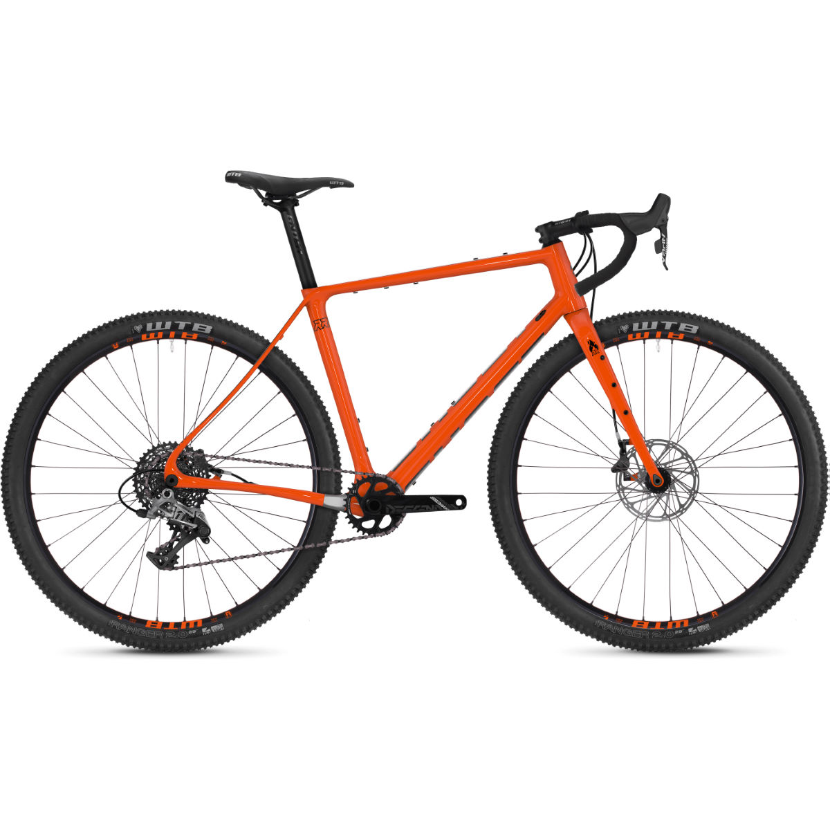 Ghost Fire Road Rage 6.9 Adventure Road Bike (2019) - Bicicletas de carretera