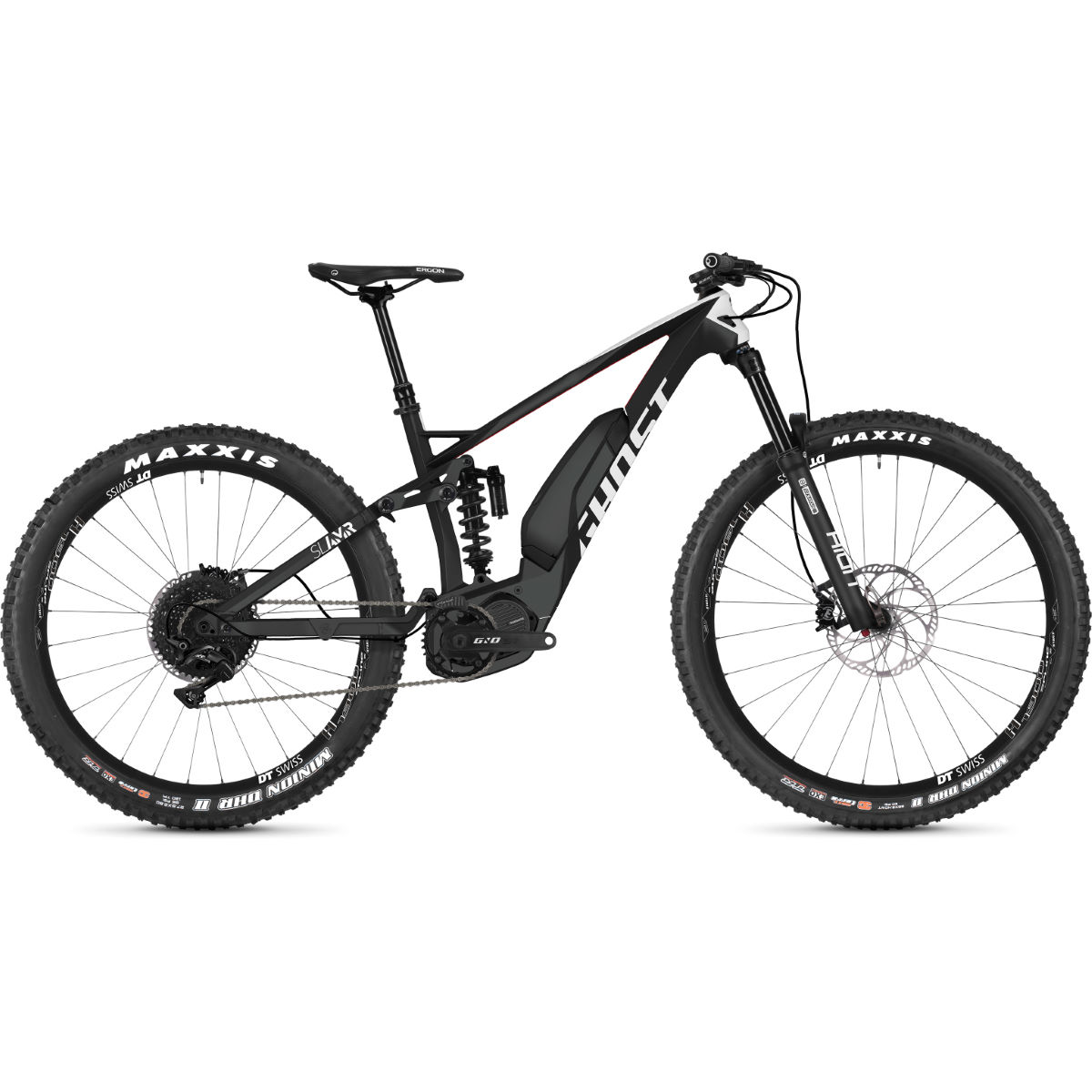 Ghost Slamr S4.7+ Full Suspension E-Bike (2019) - Bicicletas eléctricas de montaña