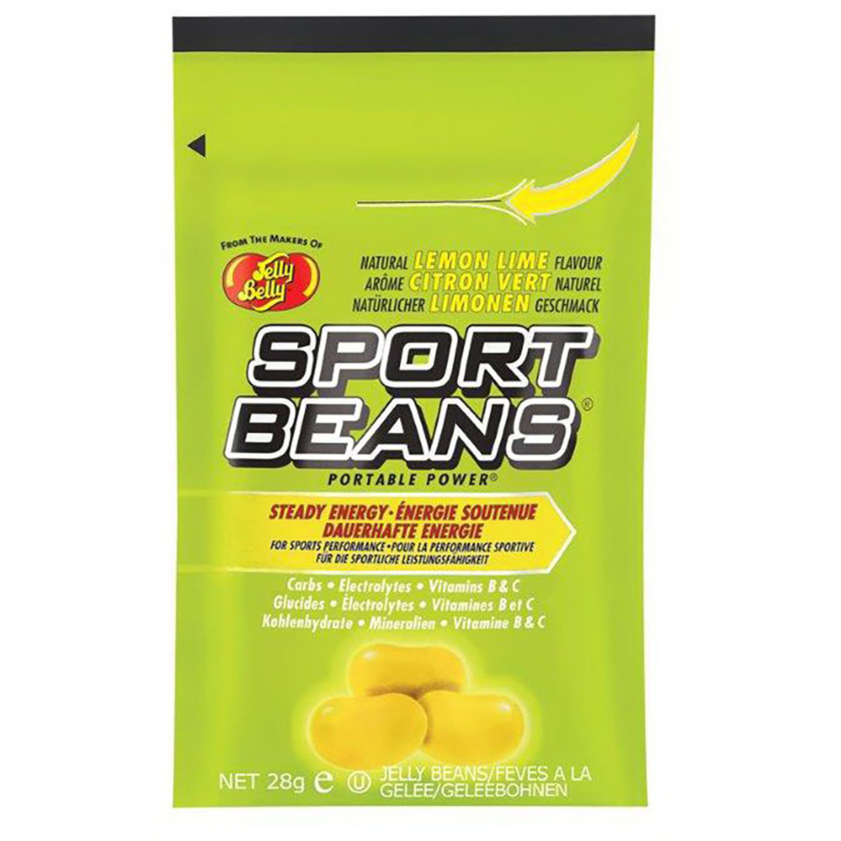 Jelly Belly Sports Beans 24x28g - Masticables