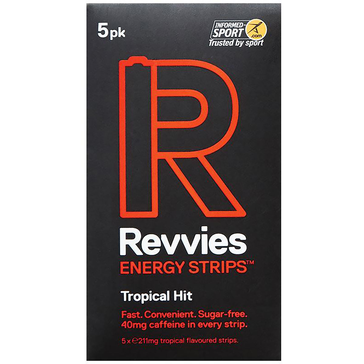 Revvies Energy Strips (6 x 5 Pack) - Masticables