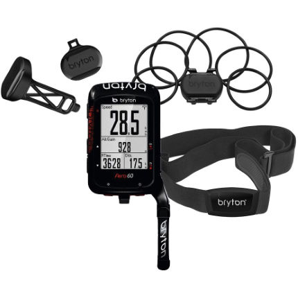 Picture of bryton Aero 60 + Cadence + Speed + HRM +Aero Mount