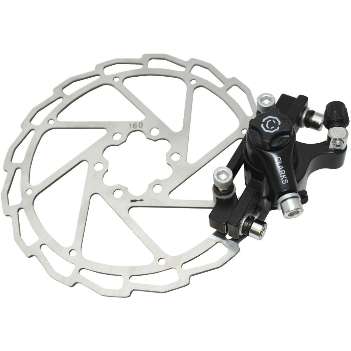 Clarks CMD-11 Mechanical Disc Brake + Rotor - Pinzas para frenos de disco