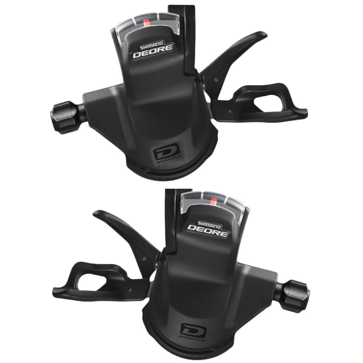 Commandes trigger Shimano Deore M610 10 vitesses - 10 Speed Noir