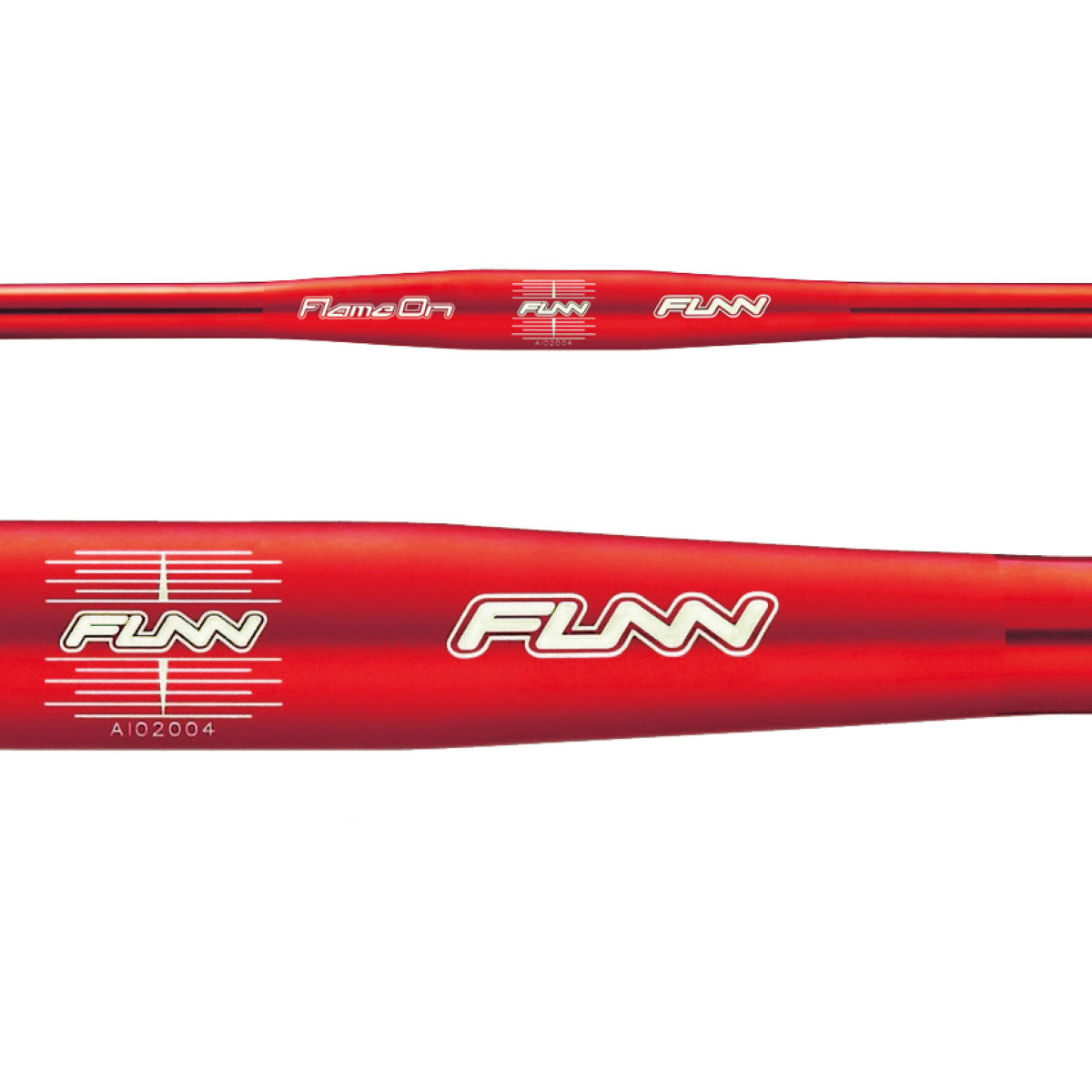Cintre Funn Flame On Flat - 680mm 31.8mm Rouge