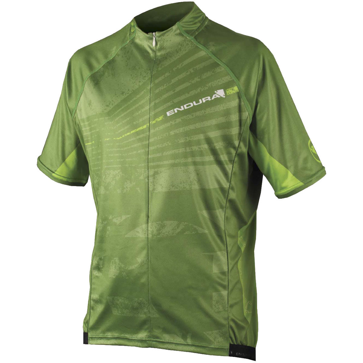 Endura Hummvee Ray Jersey - S Green | Short Sleeve Cycling Jerseys